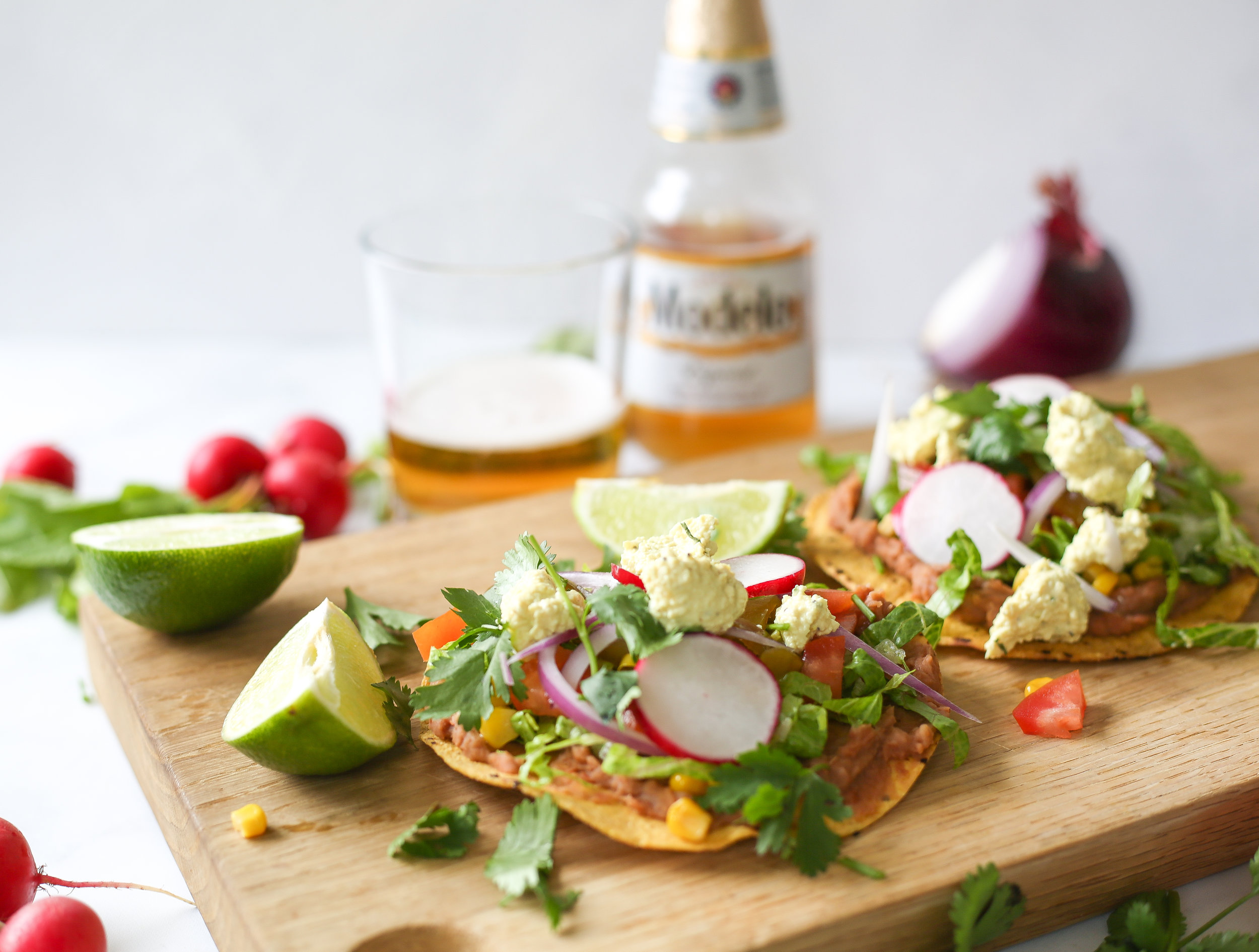 Toby's Healthy Cinco de Mayo Tostadas -