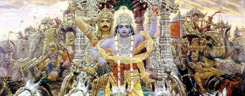 Arjuna and Krishna
