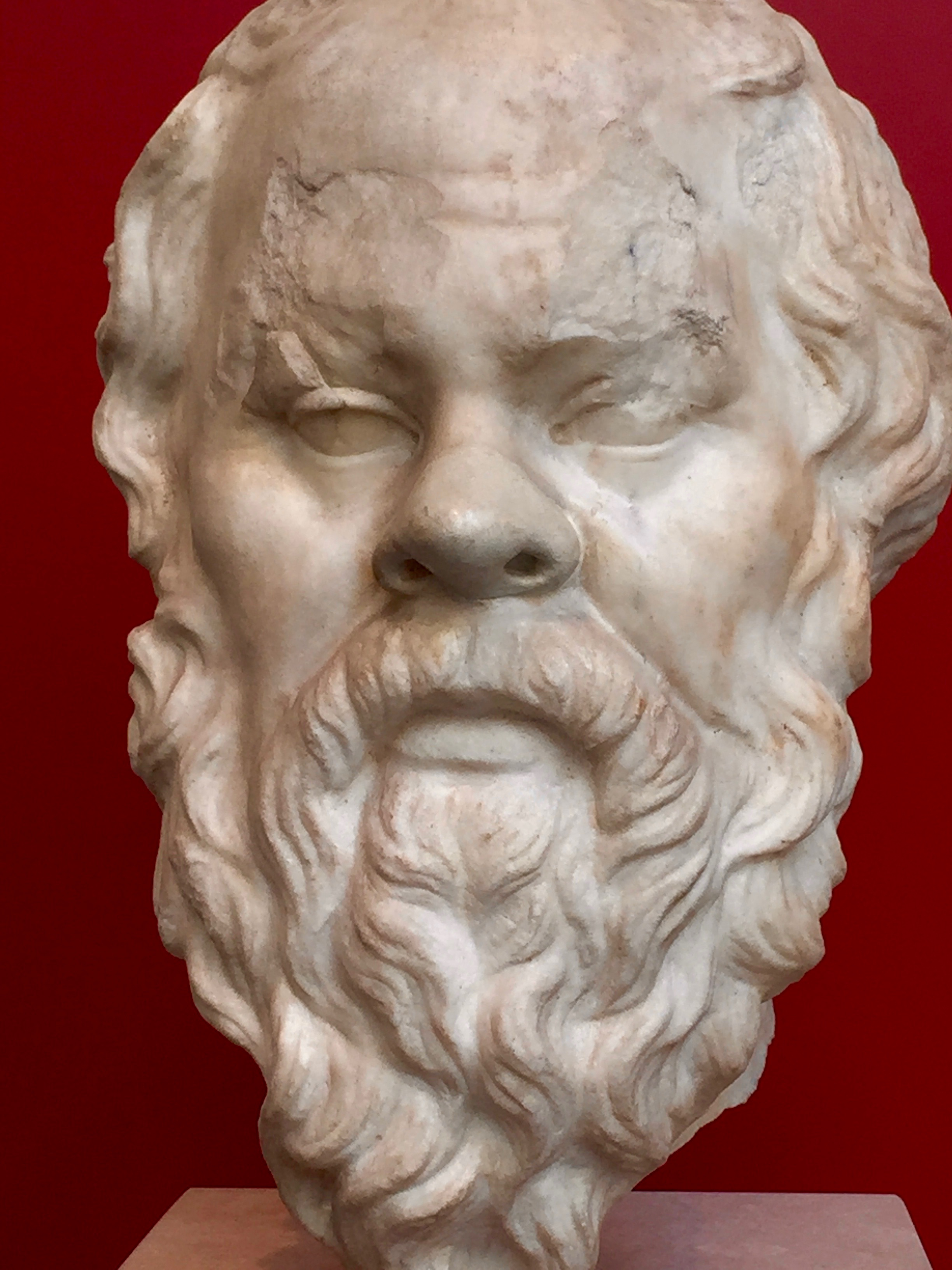 "Socrates nearly always features in syllogism examples, and for good reason. He was willing to die by hemlock poisoning rather than be banished from his beloved Athens for the crime of fostering subversive critical thinking in the public arena. He claimed no original knowledge and left no writings of his own. His wisdom lives on because his life and work were championed in the works of Plato. Socrates declares (in Plato's  Theaetetus:  150) that ""god constrains me to serve as midwife, but has debarred me from giving birth.""  Socrates'  maieutic  method ( mid-wife-as-opposed-to-didact ) is, of course, the watchword for effective, constructivist TOK teaching!"