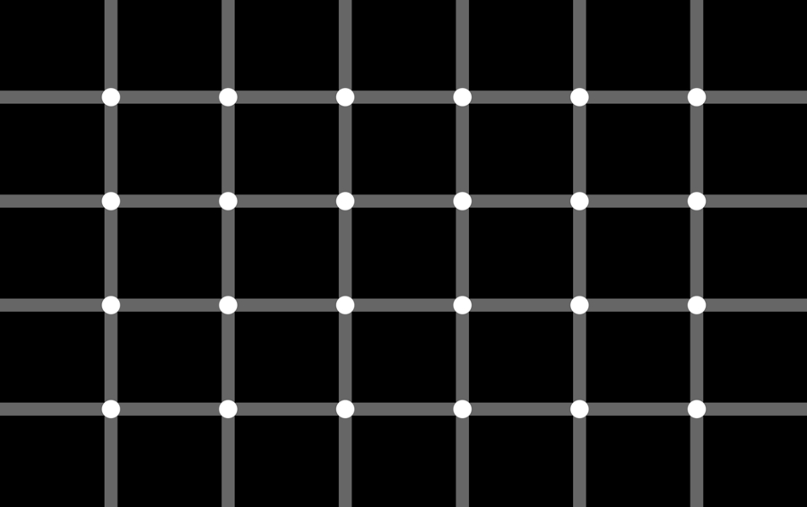 Schrauf, M., Lingelbach, B., Wist, E.R. (1997) The scintillating grid illusion.  Vision Research ,  37,  1033-1038.