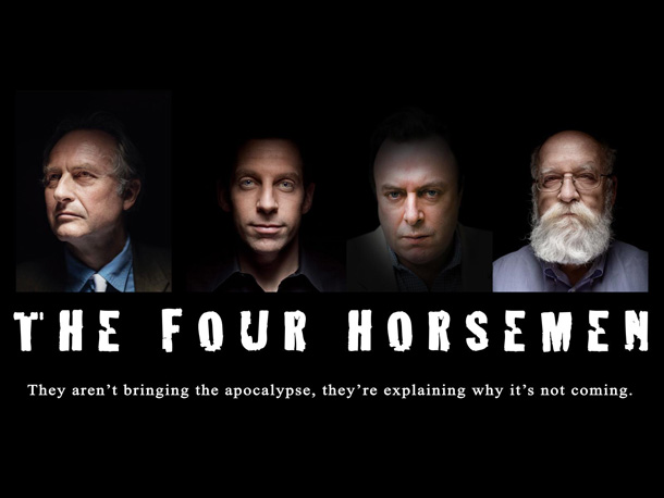 Richard Dawkins---Sam Harris---Christopher Hitchens---Daniel C. Dennett