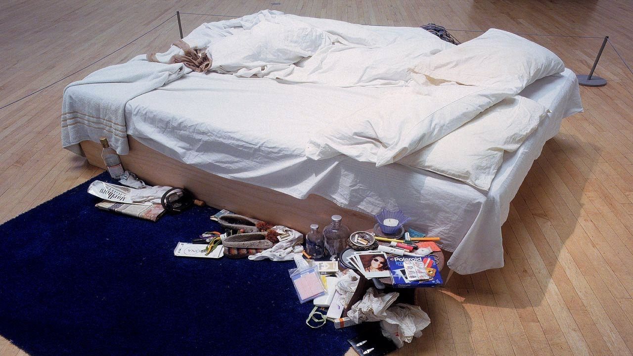 Tracey Emin (1998) My Bed.