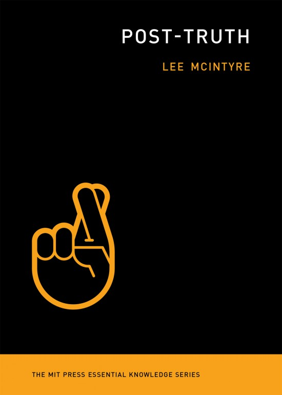 Why do you think Lee Macintyre approved this particular image for the front cover of his book? What are the implications? What is at stake?