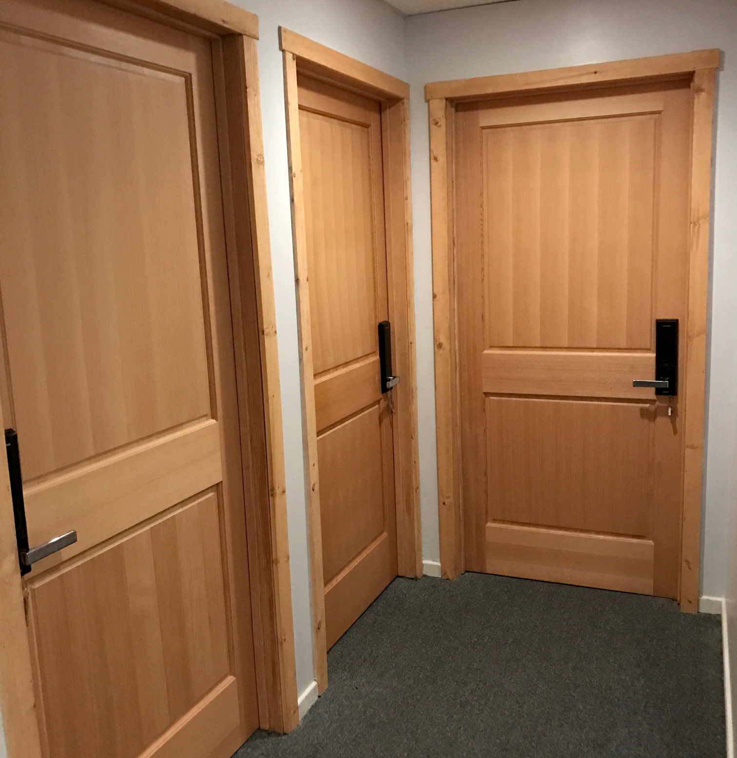 SOLID CORE SECURE ENTRY BAY DOORS