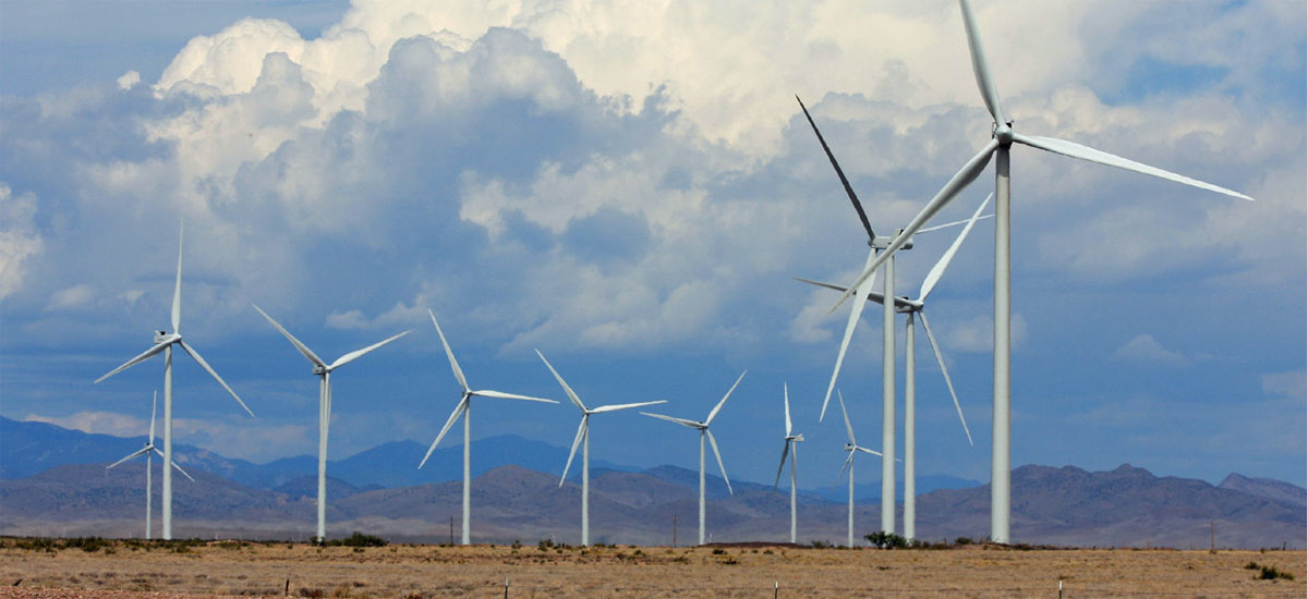 Wind Farm in New Mexico