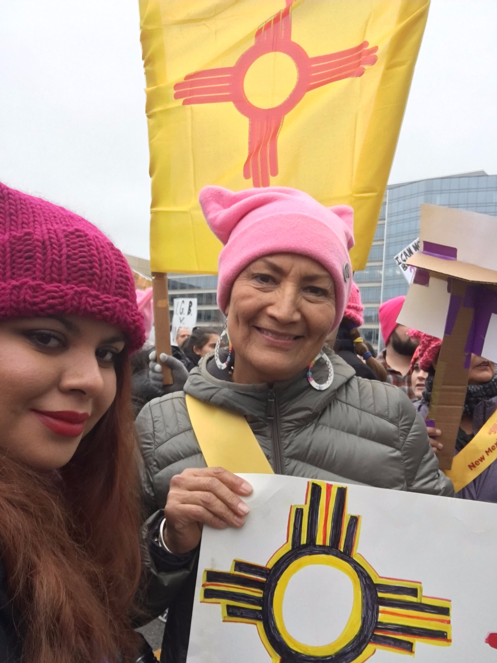 Deb & Jessica at the Women's March in D.C.