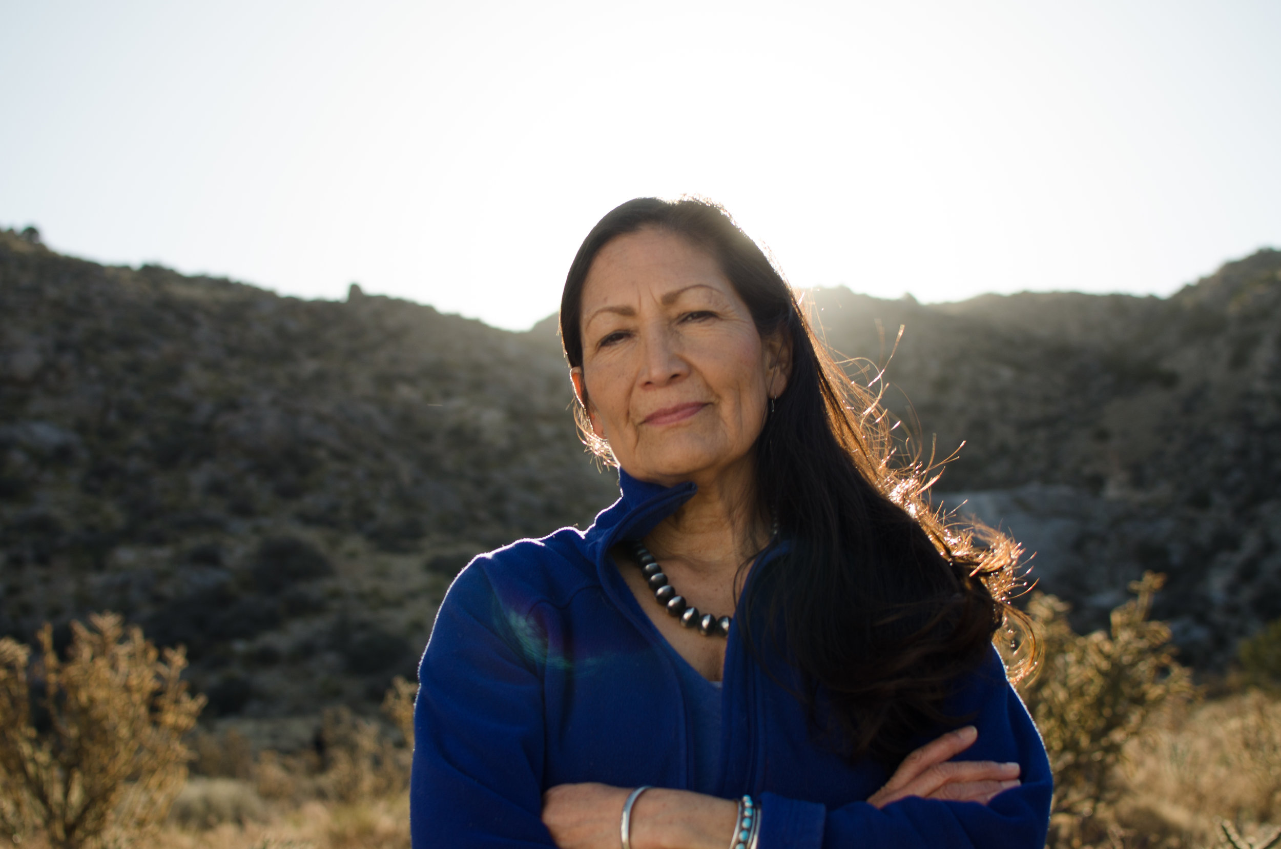 Meet Deb Haaland - I'm running for Congress because I believe that New Mexico can be a place of strong, safe communities where our kids can be happy growing up, and can build a life here when they are grown. We need honest and proven leadership that is committed to serving New Mexico communities and the people of the First Congressional District of New Mexico. I would be honored to be that voice.Learn More