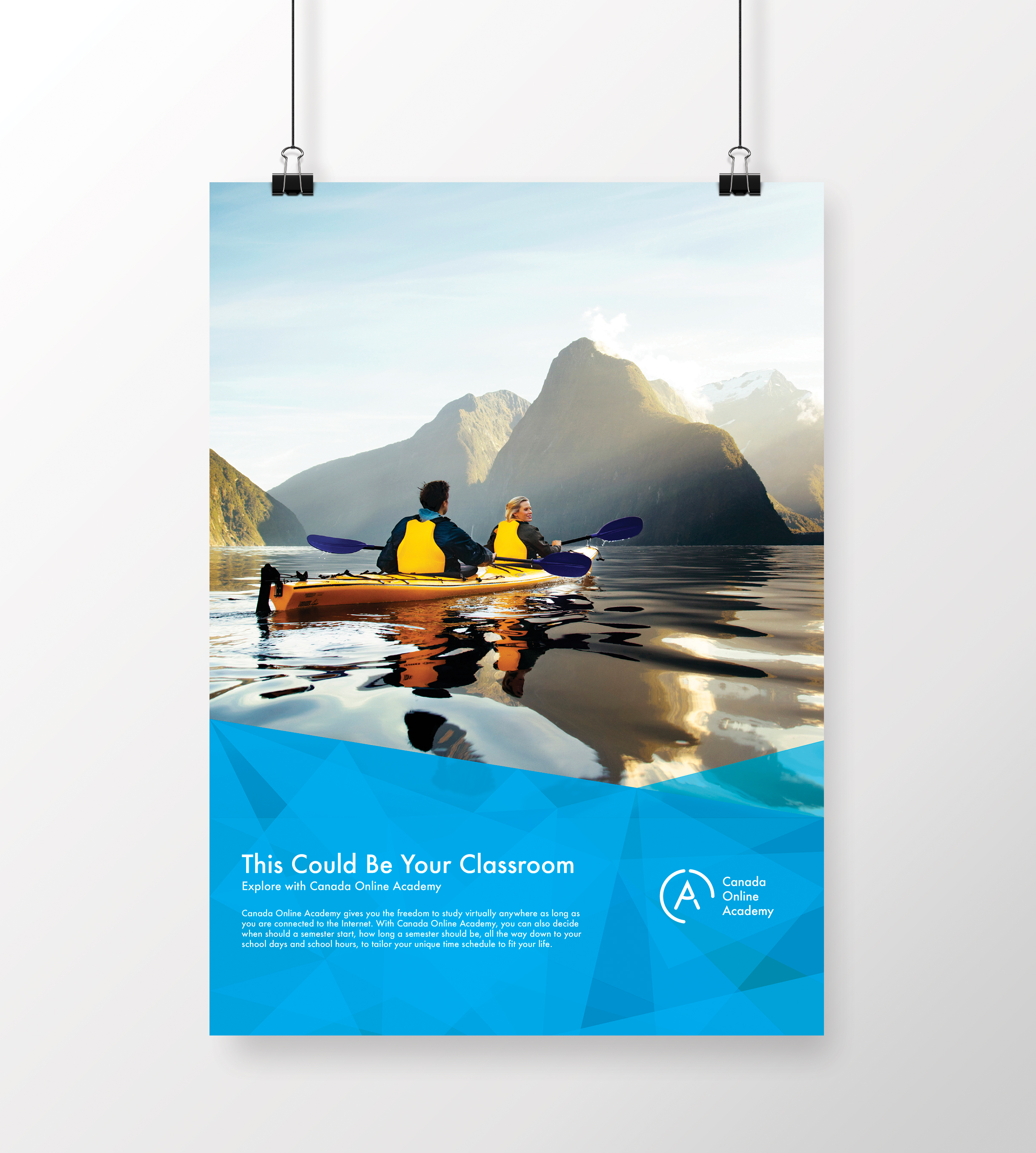 *Photo used in the poster merely represents a proposed visual direction, it was not used in actual advertisement.