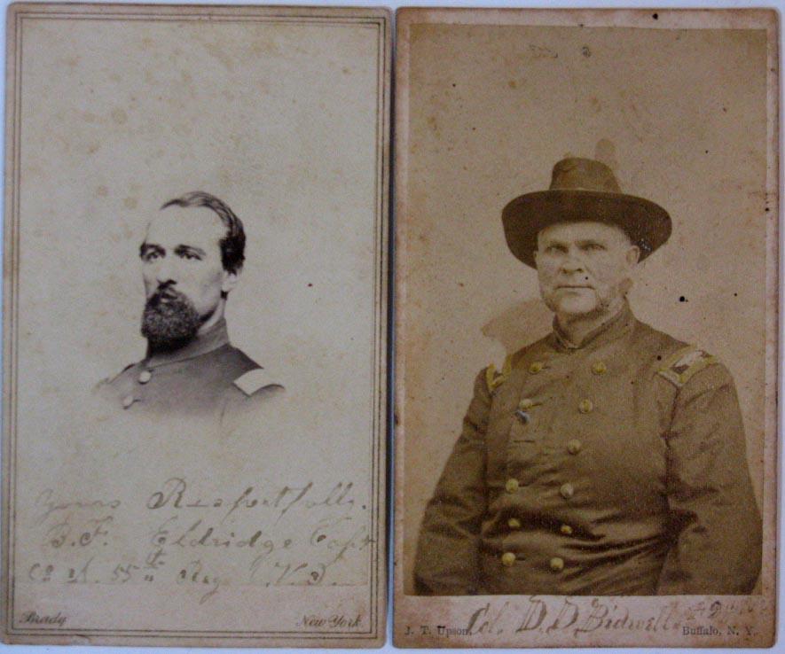Capt. Hiram N. Smith and Brigadier General Daniel D. Bidwell
