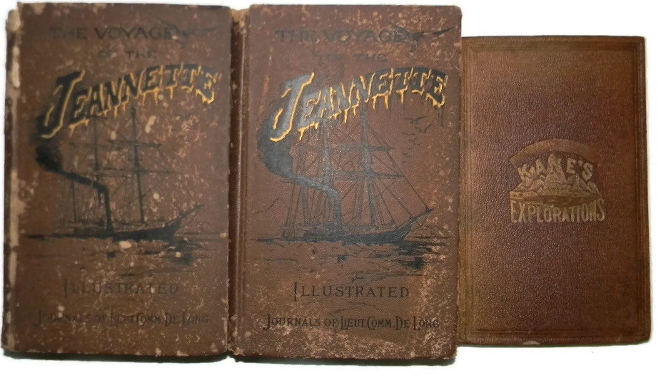Three Books on successful and less-than-successful arctic exploration.