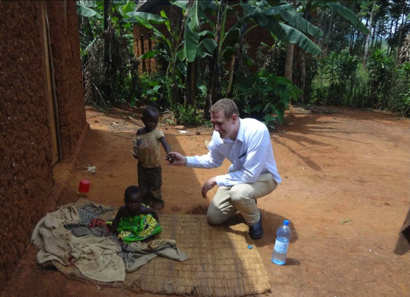 - Giving Back: Founder and Owner Isaac Hunsaker visits a village that was given solar power from Beautifi Solar
