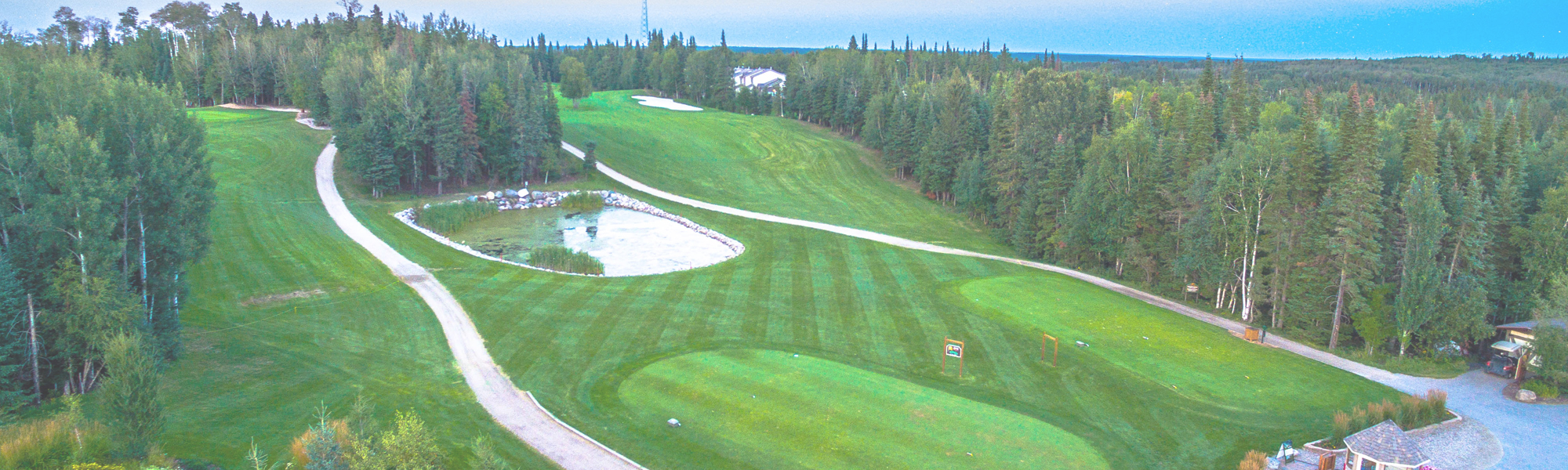 Three Championship Nine Hole Courses
