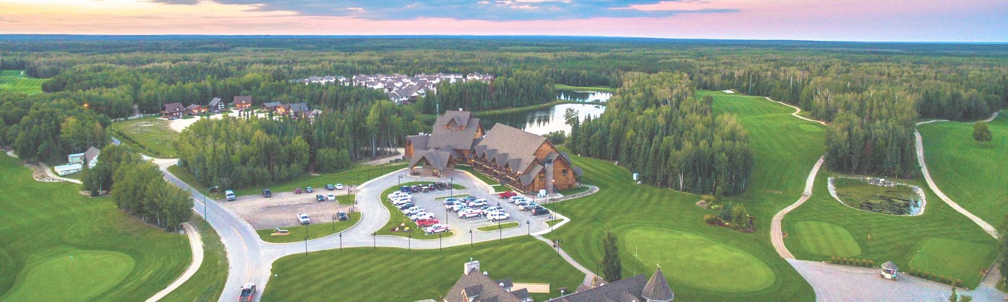 Located at Saskatchewan's highest rated resort