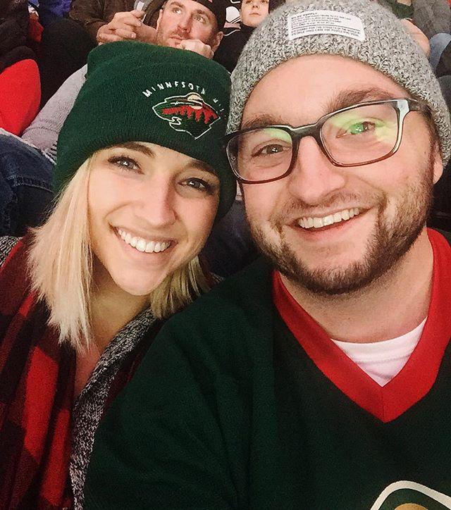 She's my wife. Dubnyk's our goalie! #mnwild