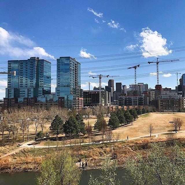 Hi Denver.  You're beautiful. #Sunnyand70