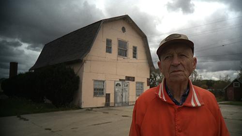 Merle outside the University of Lawsonomy in Sturtevant, WI.