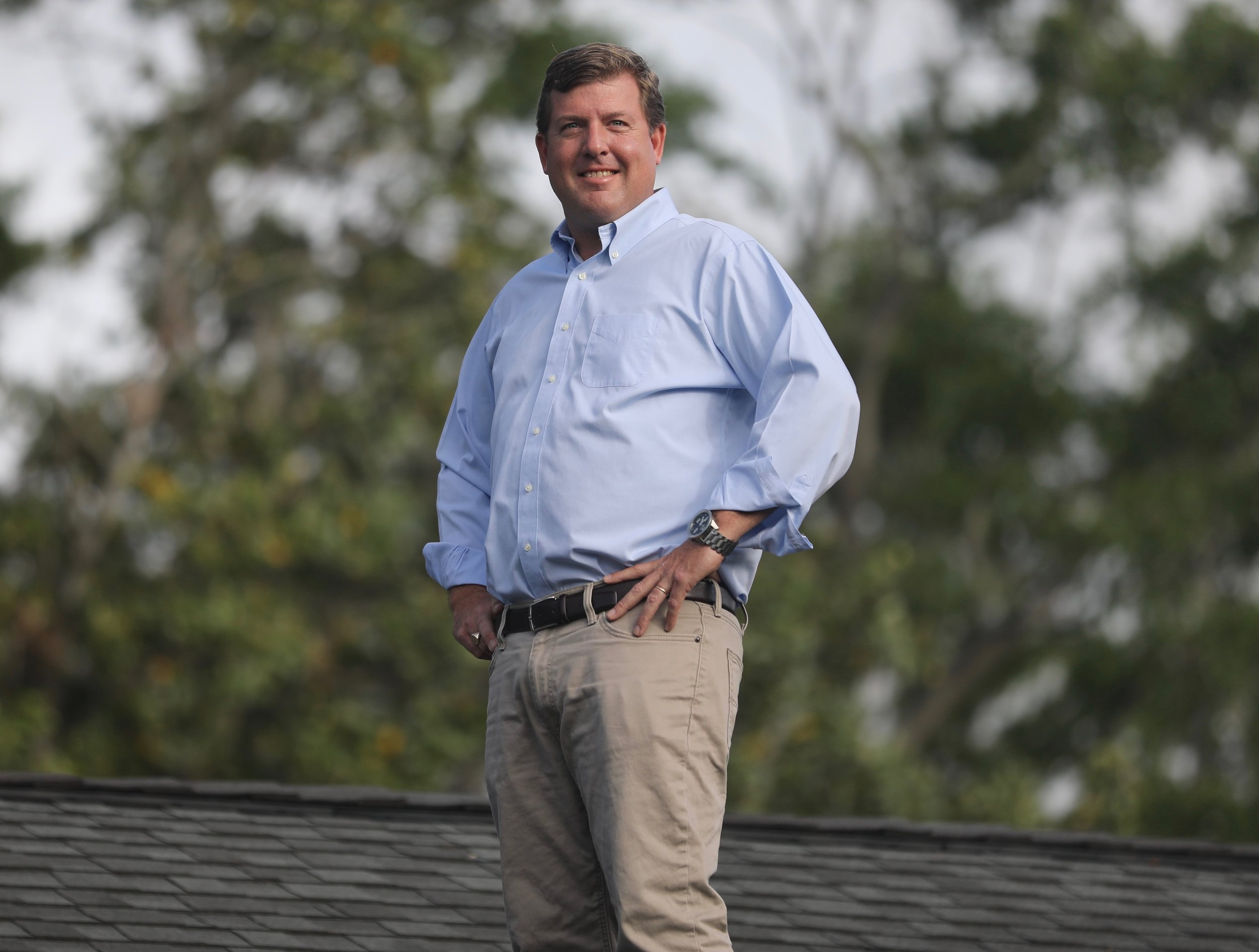 Randolph Stafford - With a broad range of experience in the building products and construction industry, you can be sure that Randolph is the best choice for your roofing project. His extensive product knowledge comes from years of training in the manufacturing sector of the roofing industry. While Randolph is a steep slope roofing and ventilation expert, he stays current with roofing industry standards by participating in continuous education seminars regularly. His experience in the distribution sector of the roofing industry has taught him the importance of planning and logistics to a successful construction project. The relationships that he has developed with the roofing industry's leaders are second to none. Randolph is committed to leveraging his experience and relationships to help each customer make the best roofing choices for their home.Homeowners throughout the Charleston Metro area trust Randolph with their roofing needs. His attention to detail and dedication to the ultimate customer experience make Northbridge Roofing the logical choice when it comes to selecting a roofing contractor. With Randolph, you are guaranteed to have a professional contractor who has your best interests in mind at all times.Randolph and his wife, Mary Frances, live in West Ashley. Mary Frances is a nurse at Roper Hospital, and they attend Bethel United Methodist Church in downtown Charleston. Randolph truly is your neighborhood roofer.