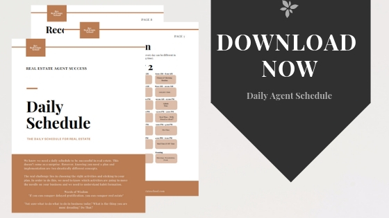 Download Daily Schedule Template PDF