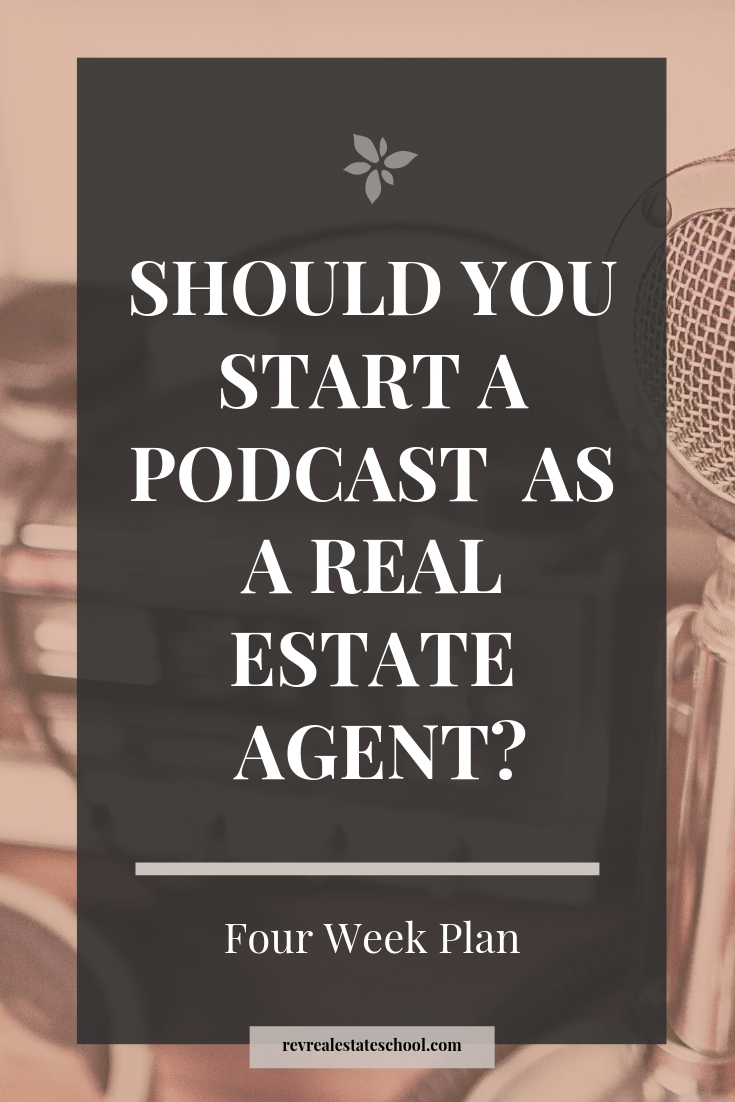 Real Estate Agent Podcast For Beginners
