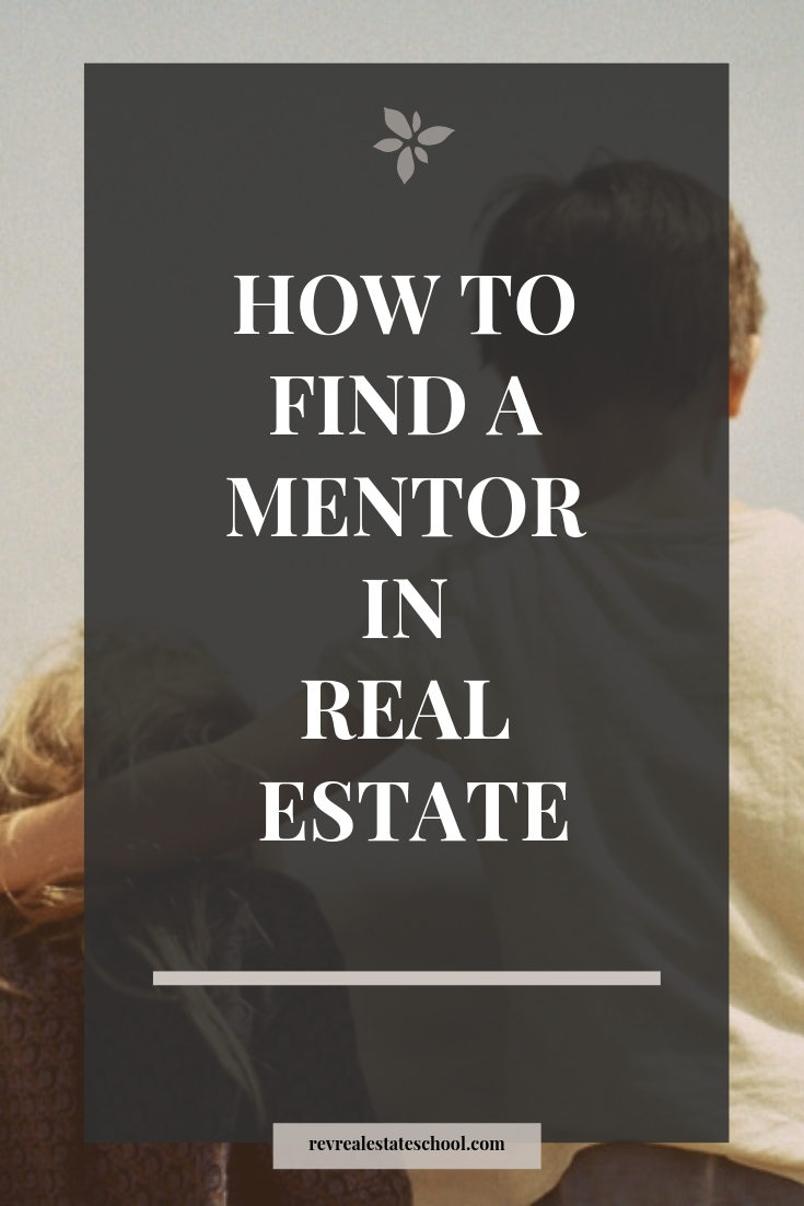 How To Find a mentor in real estate