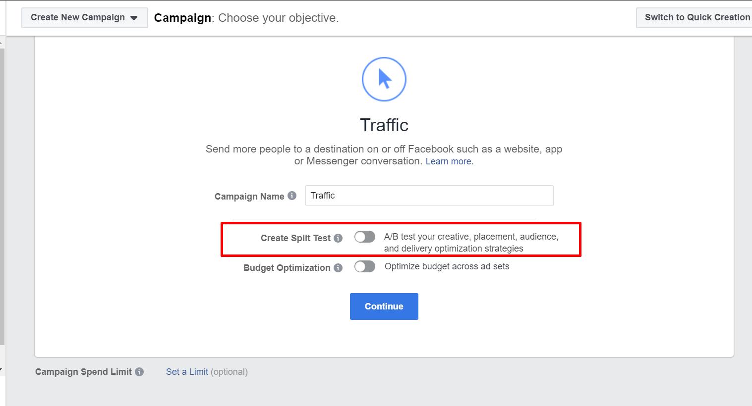 A/B Testing Facebook Ad REALTOR