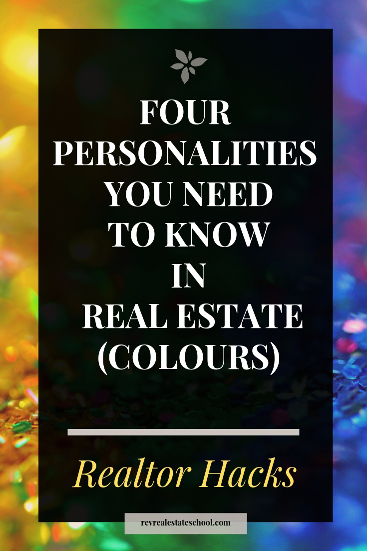 Four Personalities You Need To Know in Real Estate