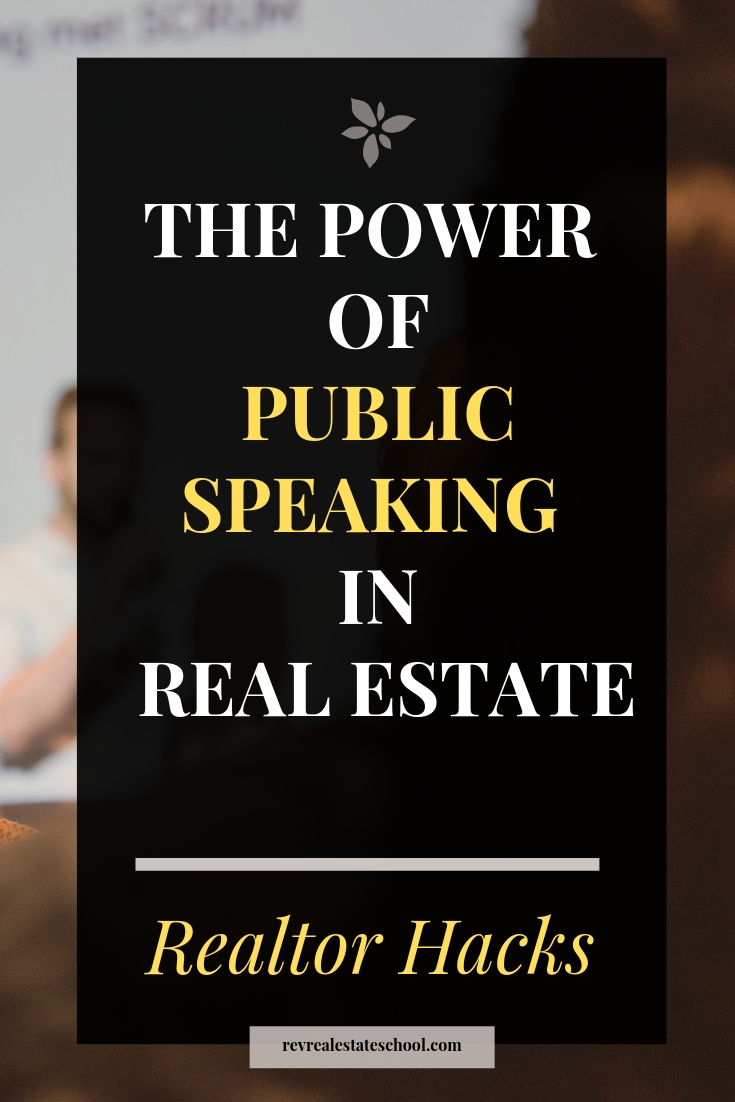 The Power of Public Speaking in Real Estate