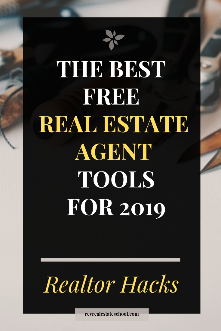 Best Free Real Estate Agent Tools for 2019