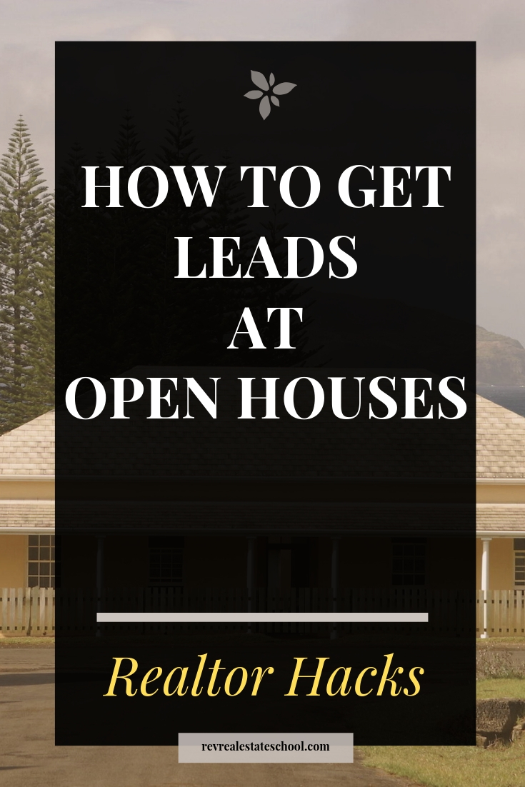 How To Get Leads at Open Houses