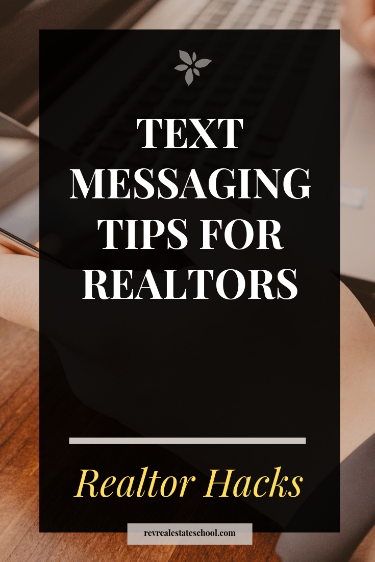 Text Messaging Tips for Realtors