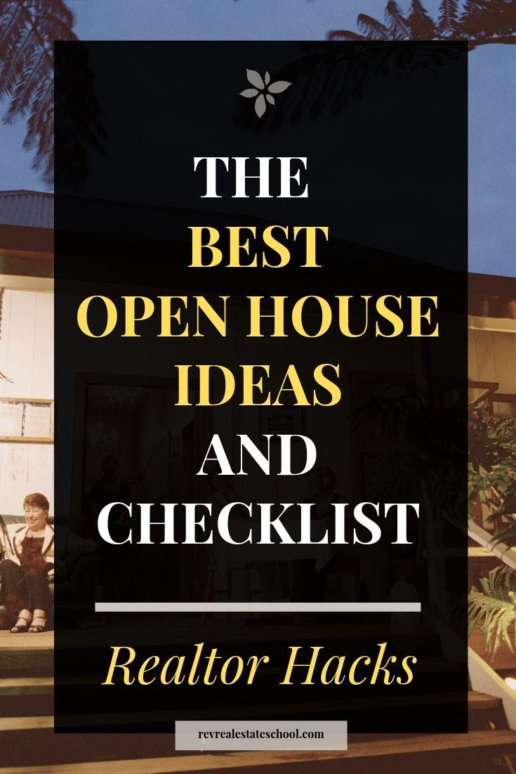 Real Estate Open House Ideas for Massive Lead Gen