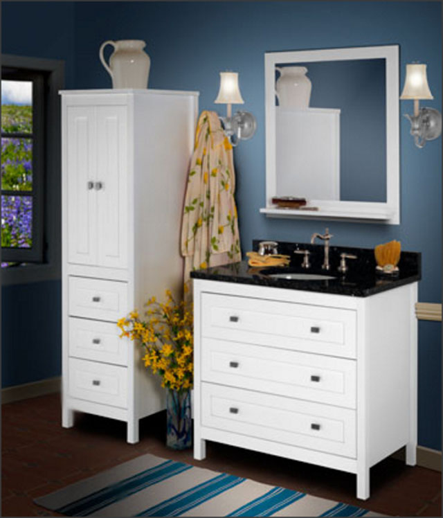Strasser Vanities - Strasser Woodenworks is proud to craft our Bathroom Vanities, Furniture and Accessories in the USA. Our workforce takes great pride in crafting beautiful and elegant furniture in a clean facility that meets or exceeds all Federal and Washington State EPA guidelines. Strasser Woodenworks is proud to support our employees, their families and the economy of our community.