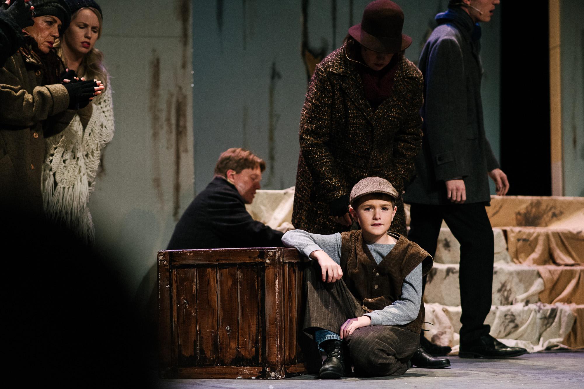 boy in Annie, the play