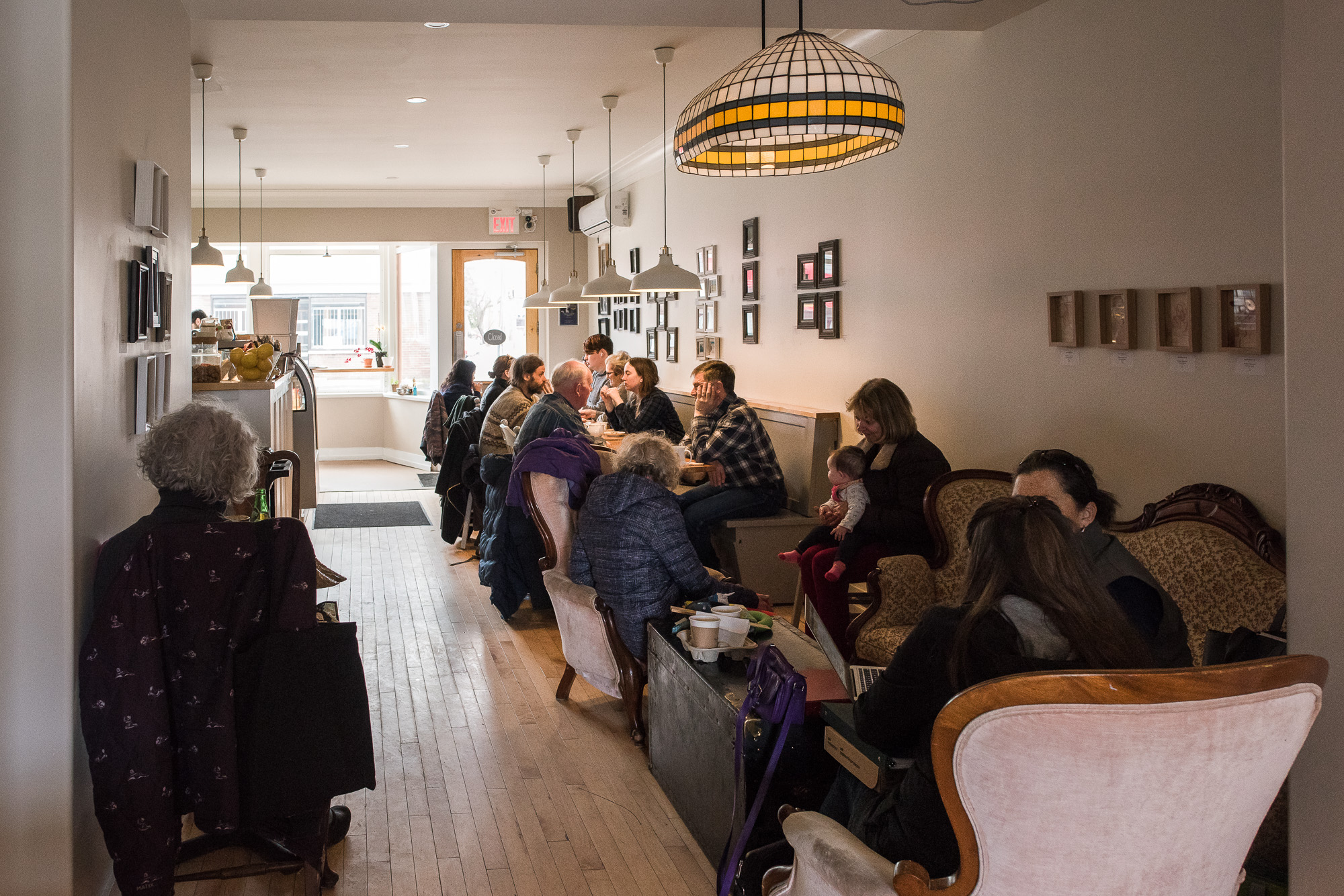 The Elm Cafe attracts patrons from all over Kingston