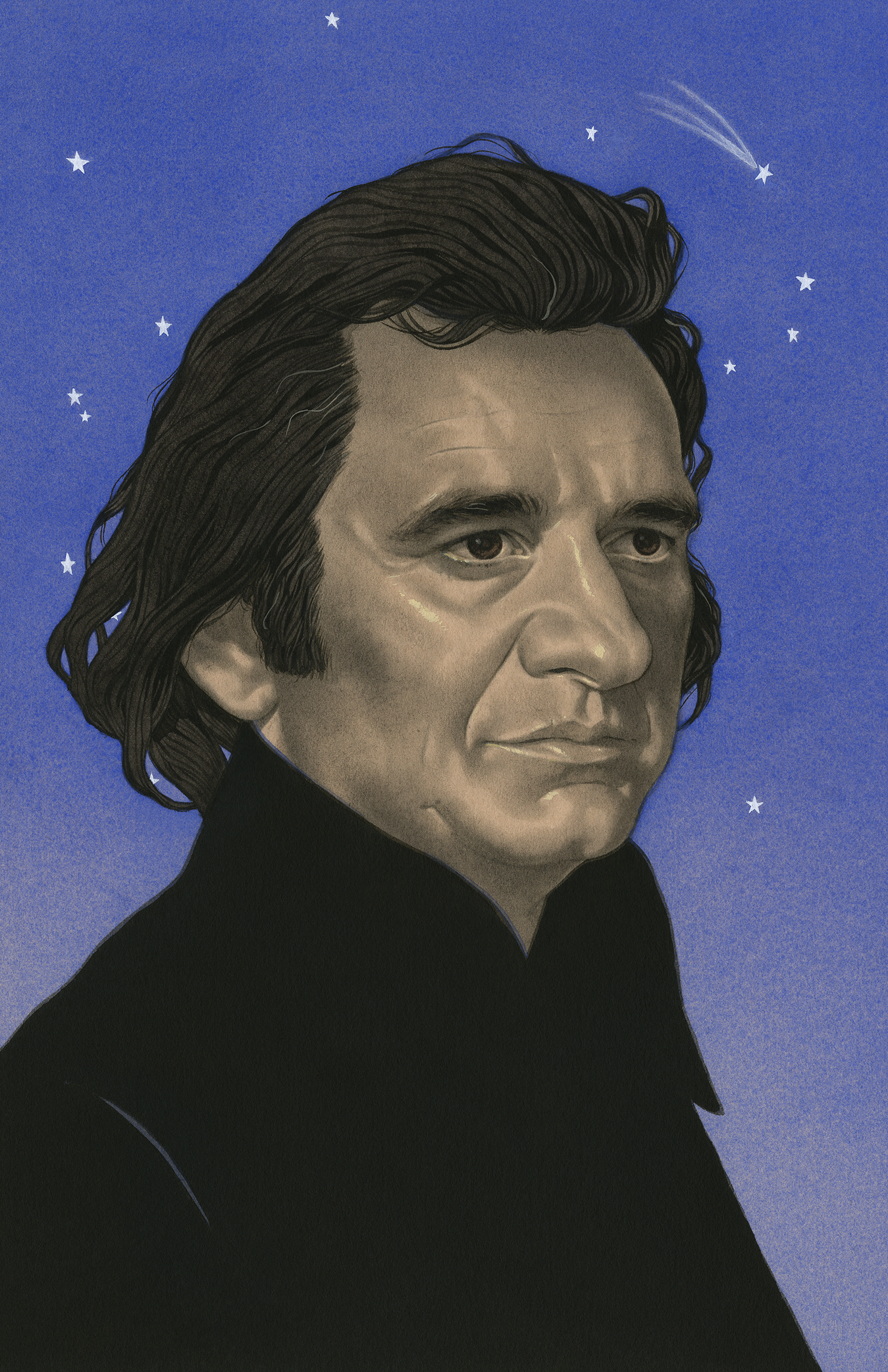 Johnny Cash, Out Among the Stars | Rolling Stone Magazine