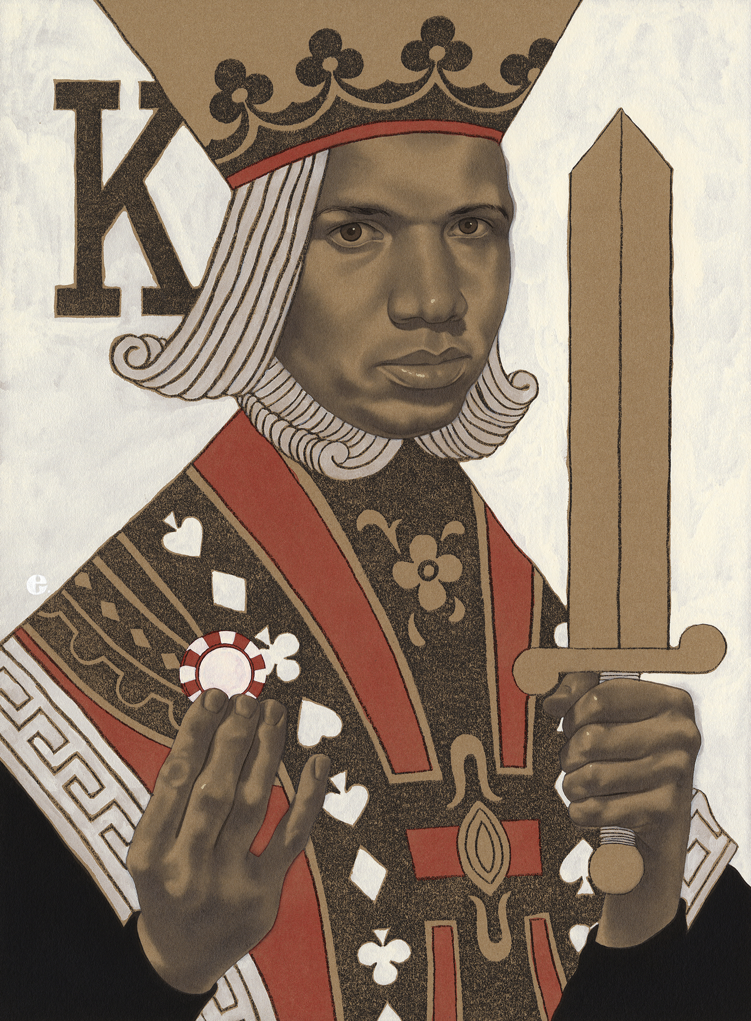 Poker King Phil Ivey | Playboy Magazine