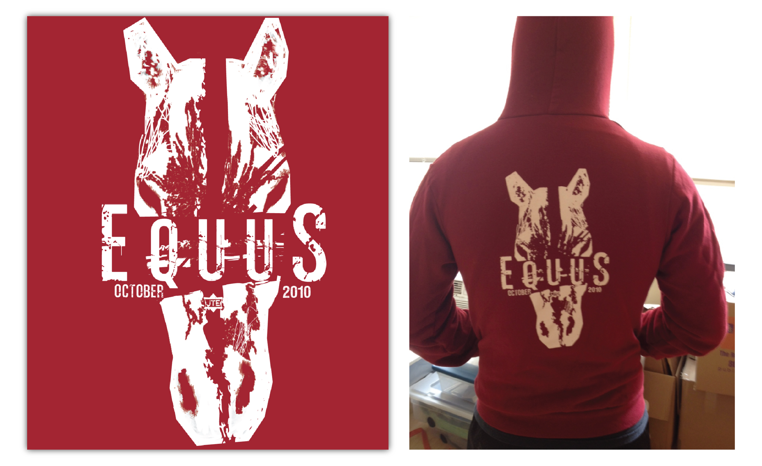 EQUUS  - Merchandise Design