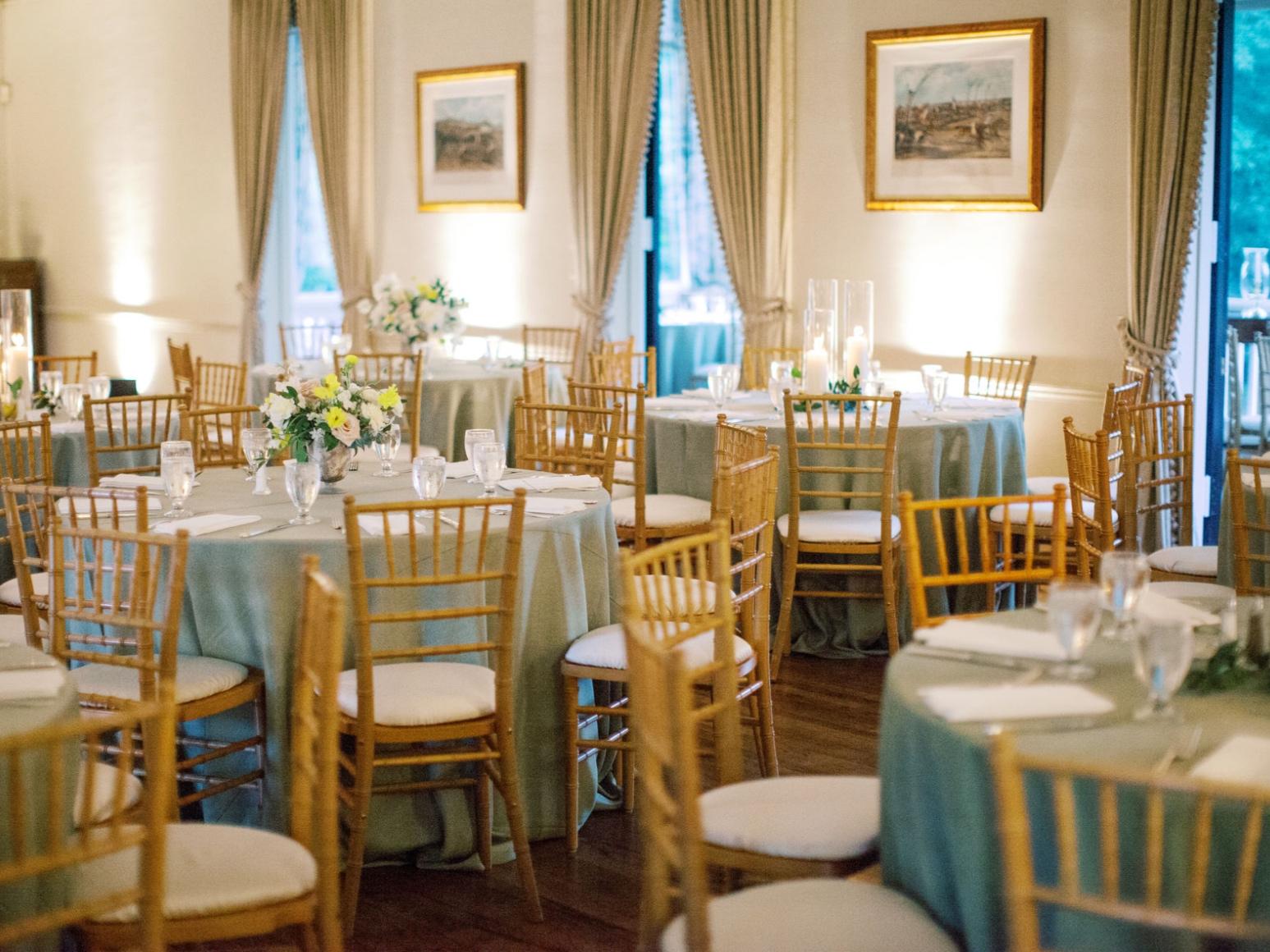 houston spring time wedding reception