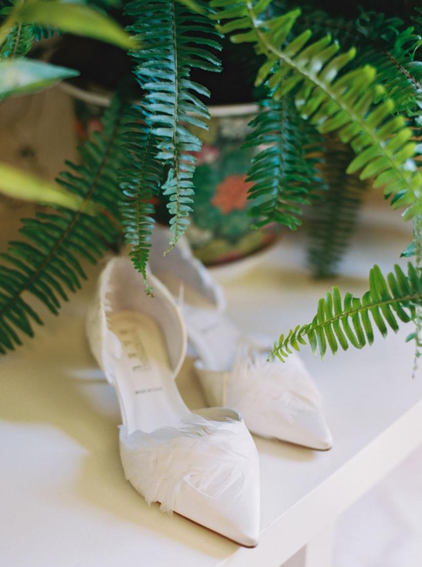 feather bridal shoes houston wedding
