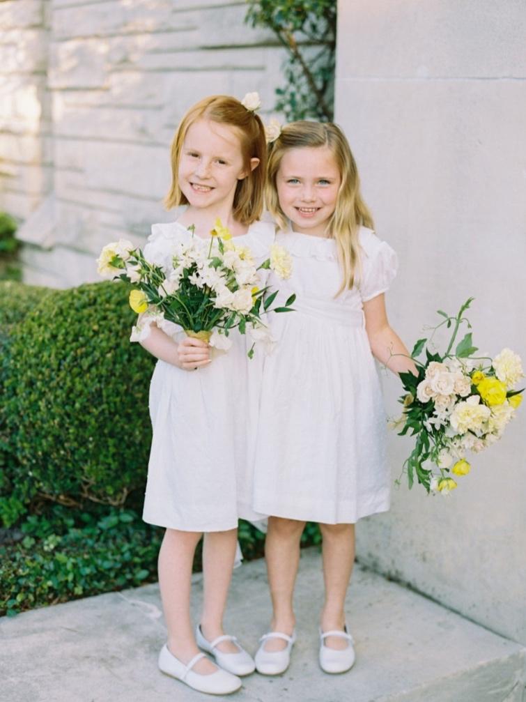 houston wedding flower girl florals