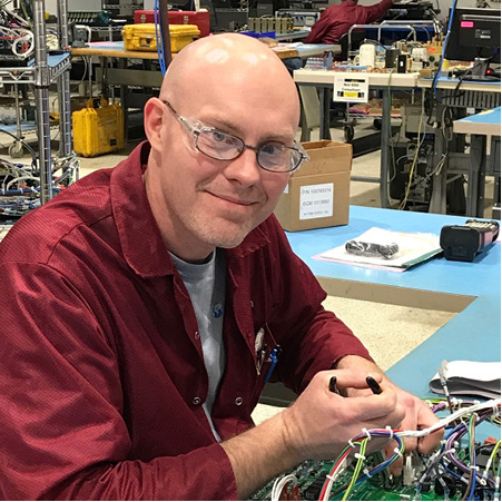 - I enjoy the opportunities provided by the variety of work. My skills have grown tremendously since joining Intervala because of the complexity and diversity of the work. I also really appreciate how supportive the management staff is to all employees.– Jeff Harvey, Electromechanical Assembler 2, team member since August 2007