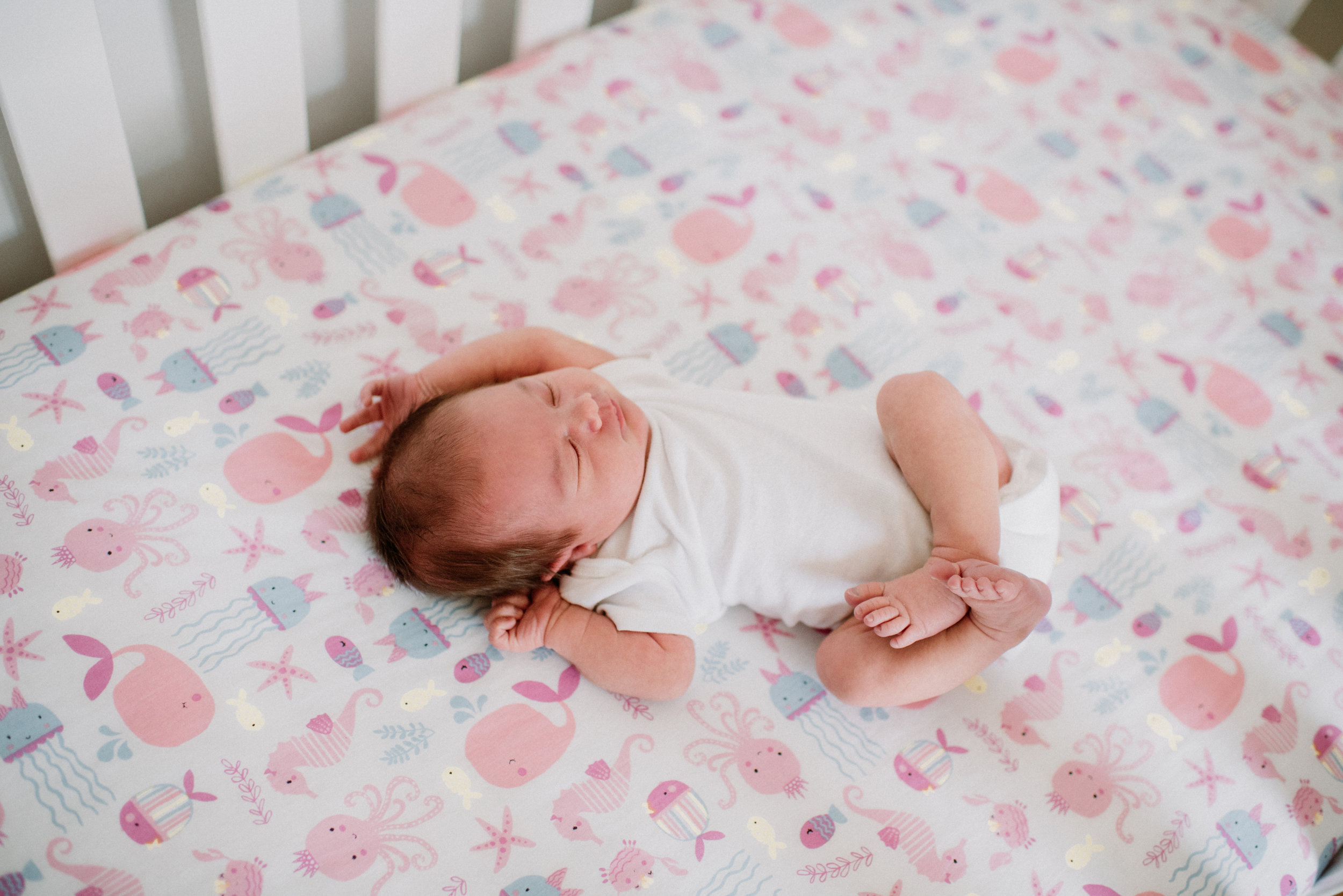 Newborn Lifestyle - $4451-2 hours | 45+ Edited Photos | Print ReleaseSessions done in an all white studio or in the comfort of your own home within the first 5-14 days.