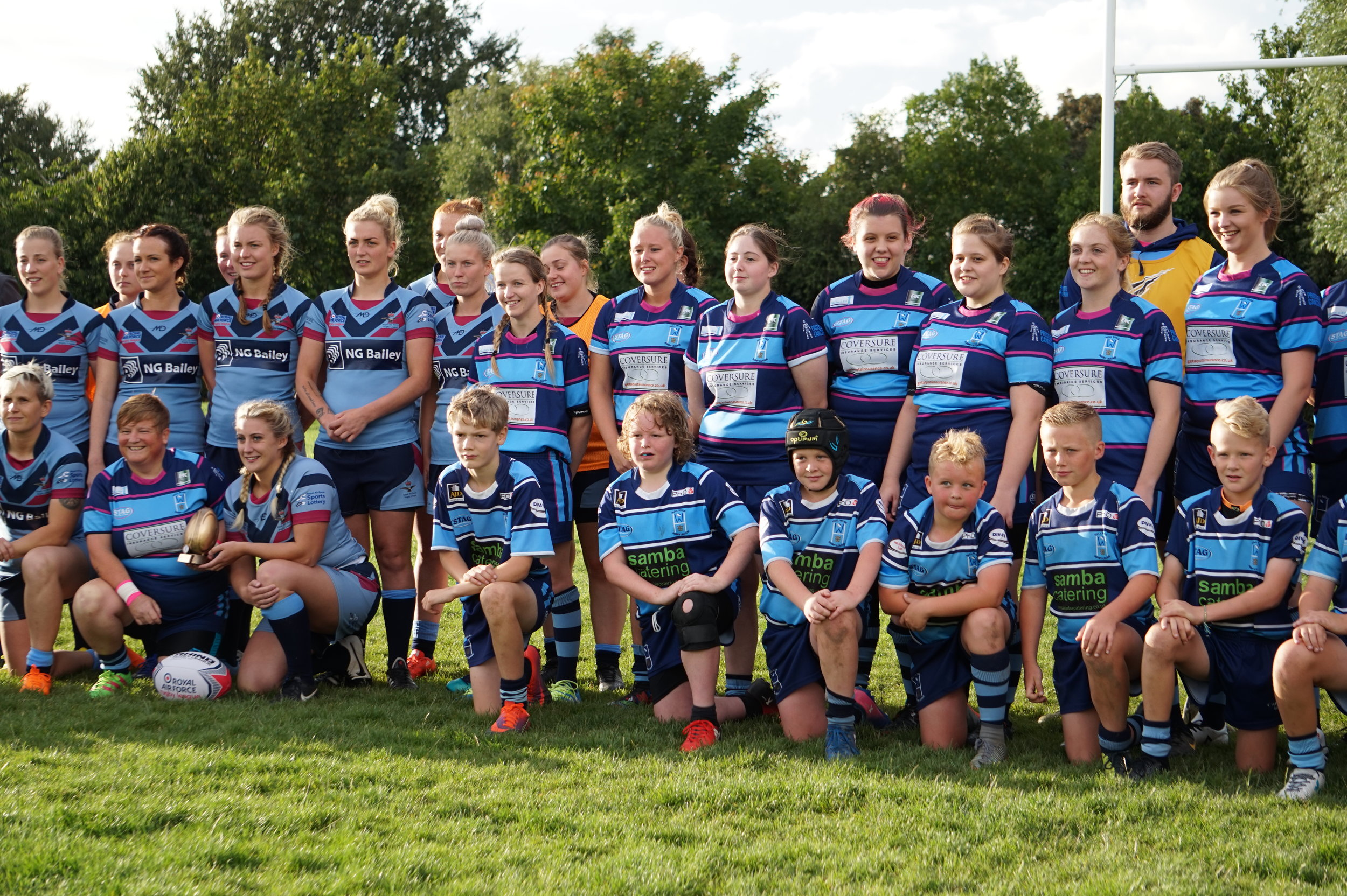 Hull Wyke Ladies recently played the RAF