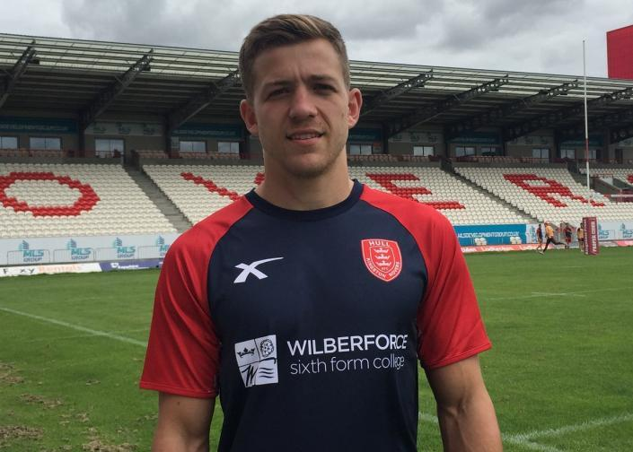 Atkin signed for Hull KR in summer 2017 and has really impressed since joining the robins