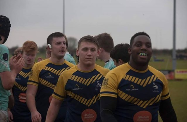 Luke Shaw plays for Beverley ARLFC and Lincoln University