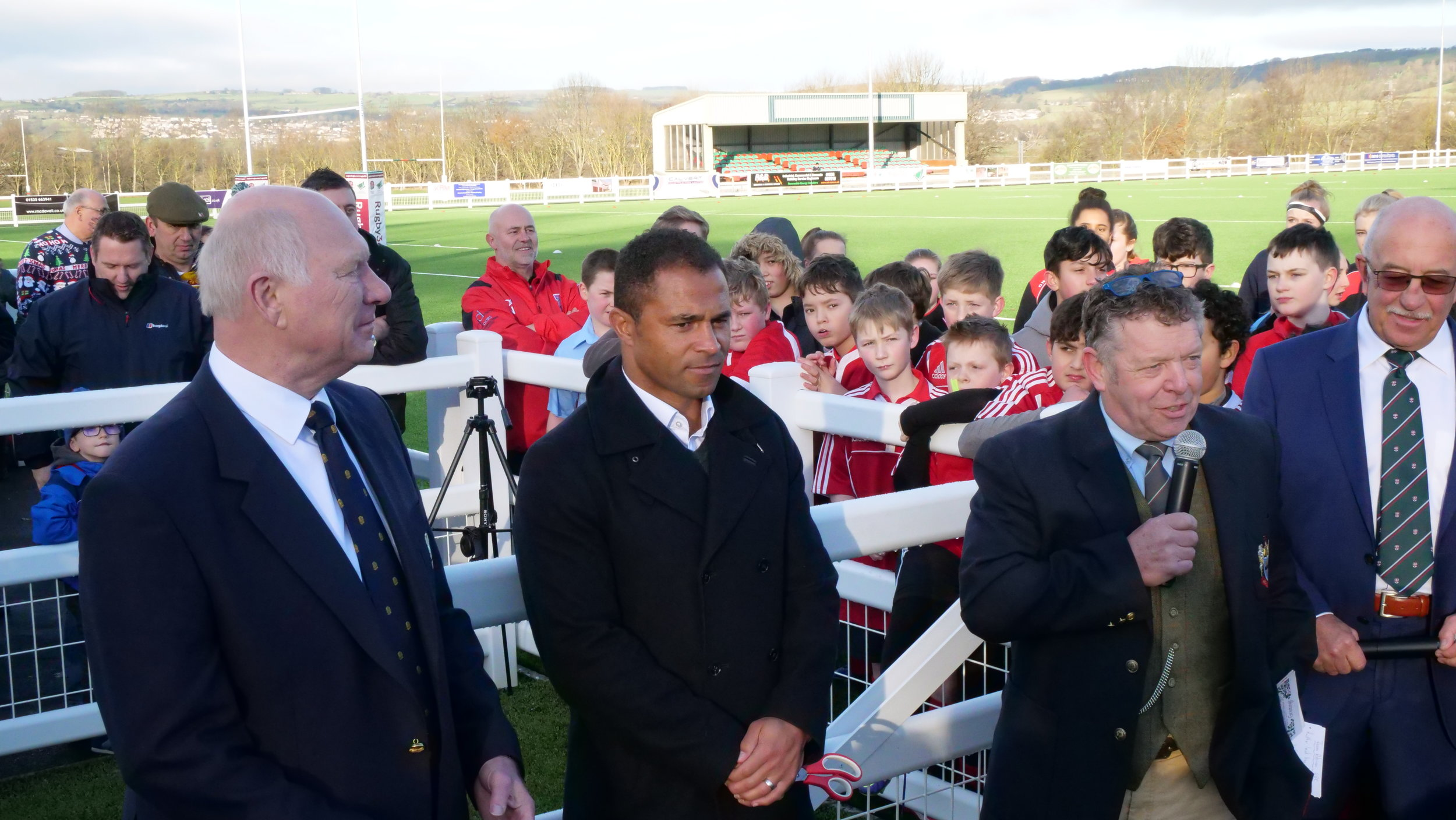 Earlier this year The RFU opened yet another all-weather rugby pitch at Keighley RUFC, one of their many strategies to grow the sport