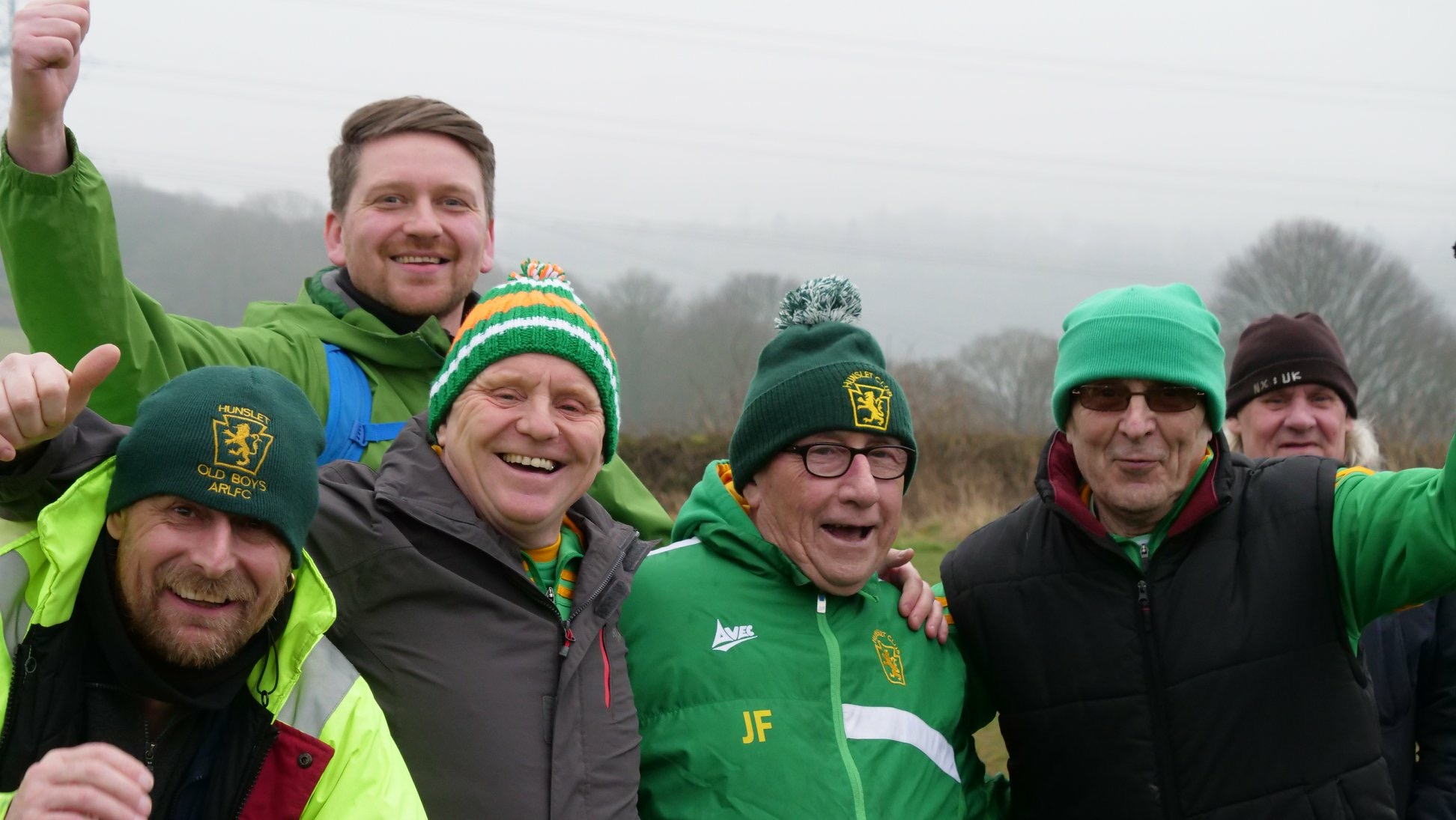 The Hunslet Ultras make sure every game feels like the Grand Final!