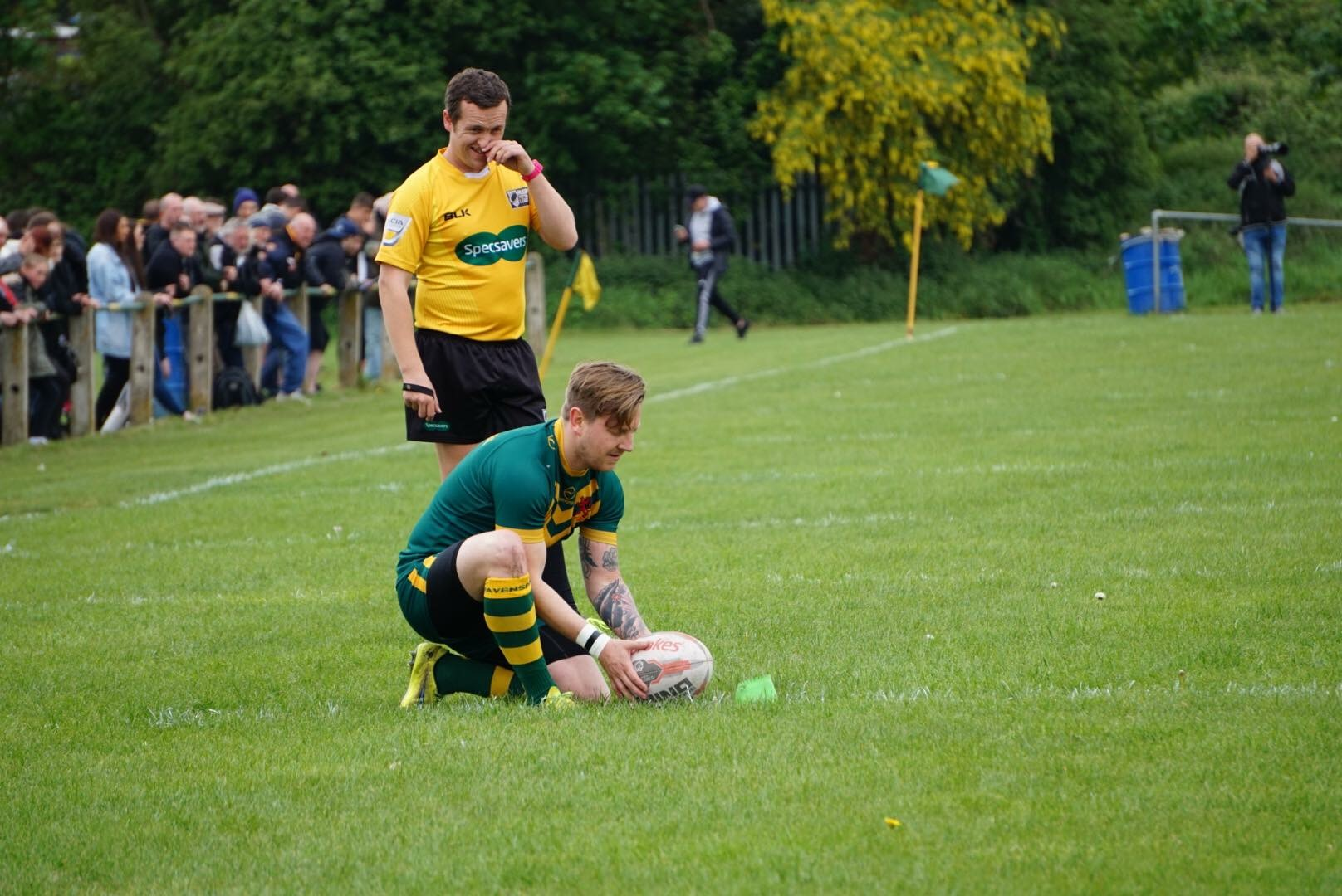 Scott Partis was very instrumental throughout the game despite missing a few conversions.