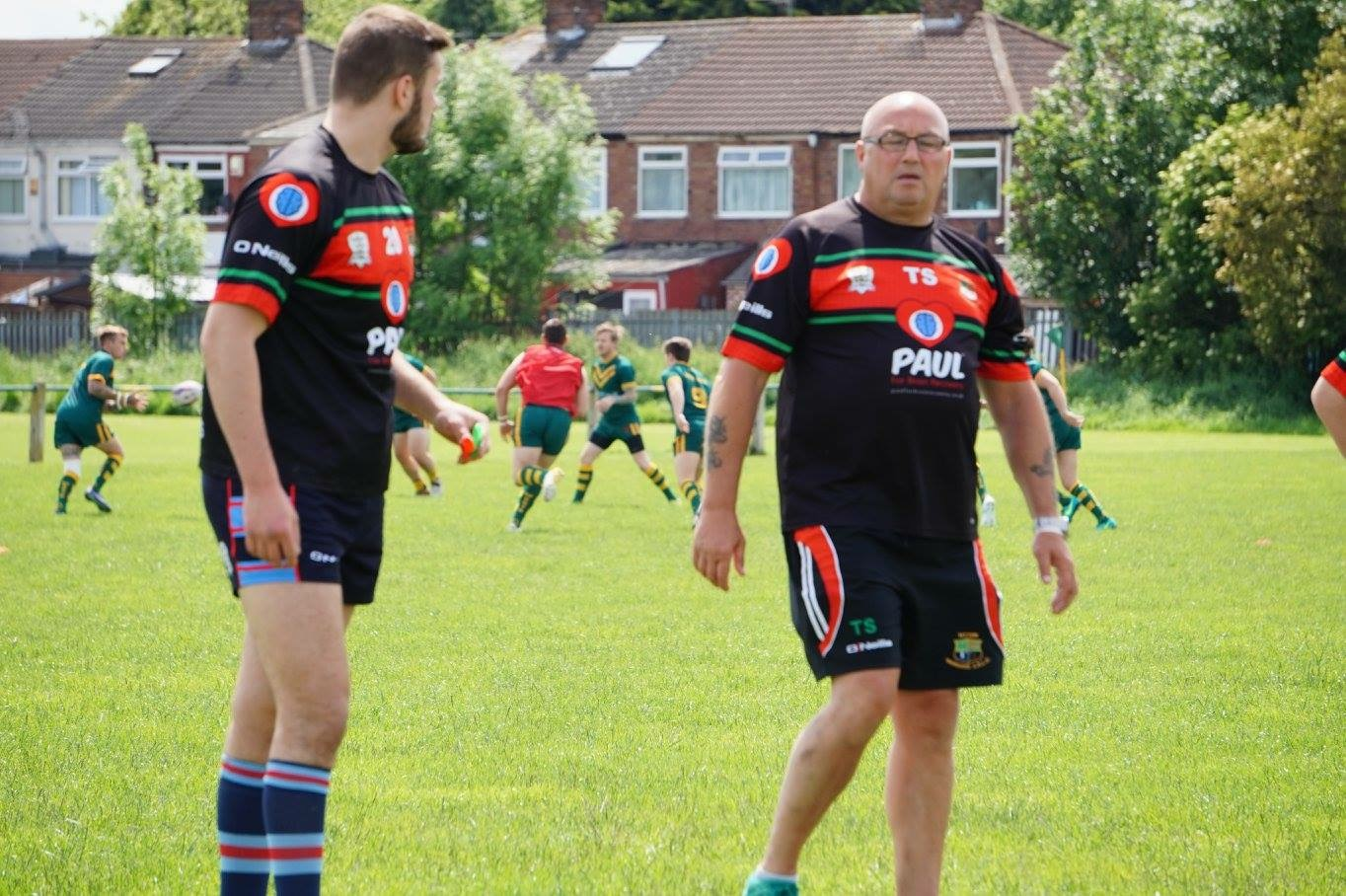 Veteran coach Tony Spence (right) decicded to step away from the club at the start of this season.