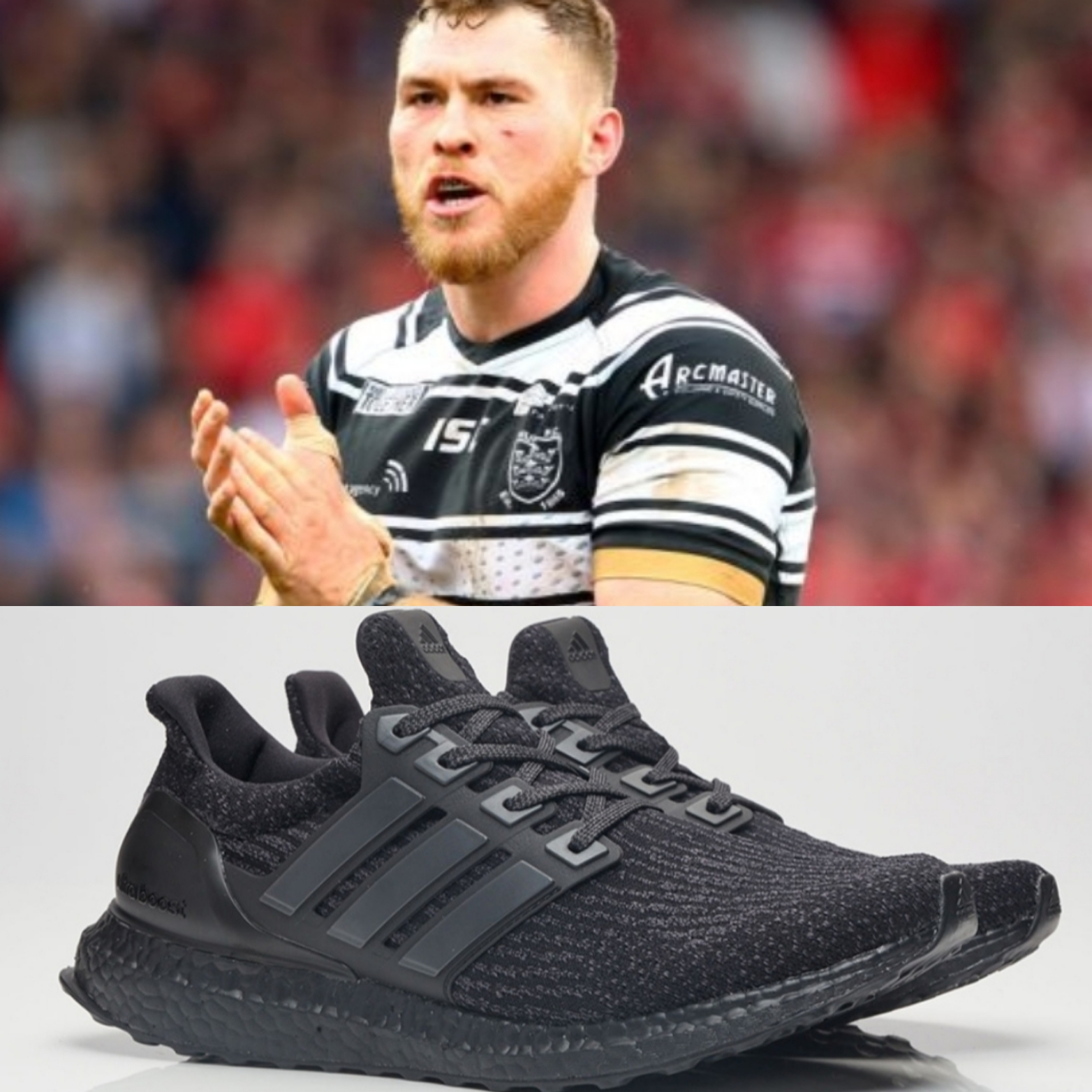 Fans favourite Scott Taylor is aslo heavily involved in Grassroots Rugby! What do you think of his Black Adidas Boosts?